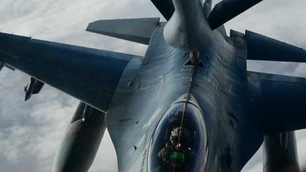 [TLMD - LV] Gasolinera aérea: base de Nellis muestra cómo trabaja la Fuerza Aérea