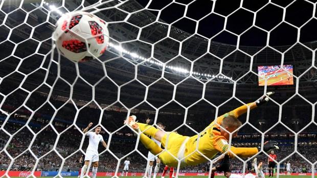 Los goles de las semifinales de la Copa Mundial
