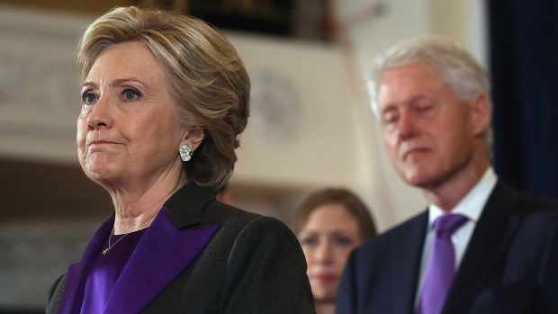 A un año: así asumía Clinton su derrota ante Trump