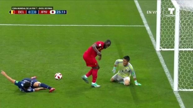 [World Cup 2018 PUBLISHED] ¡Lo que te perdiste Lukaku! Centro y desatención en el área japonesa