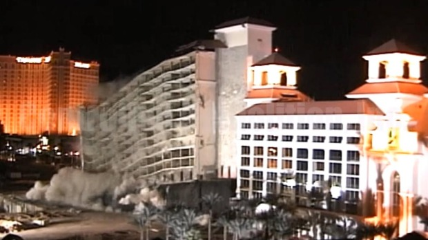Implosión del hotel y casino Desert Inn