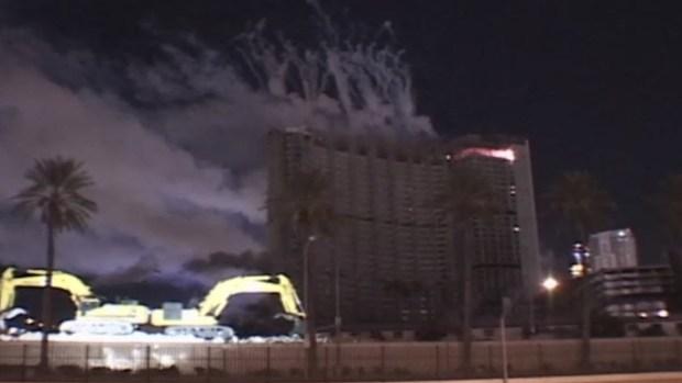 Implosión del hotel y casino Stardust