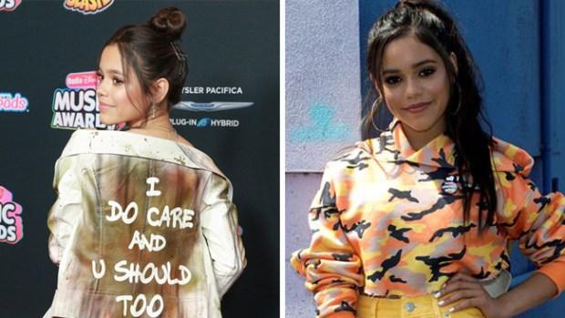 Jenna Ortega: la joven actriz que criticó el mensaje en chaqueta de Melania Trump