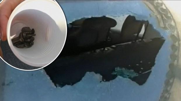 [TLMD - LV] Terror en el aire: caen sobre ciudad fragmentos de avión con destino a California