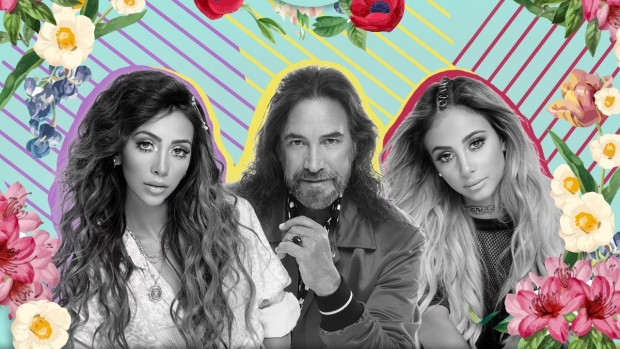 Marco Antonio Solís estrena video junto a sus bellas hijas