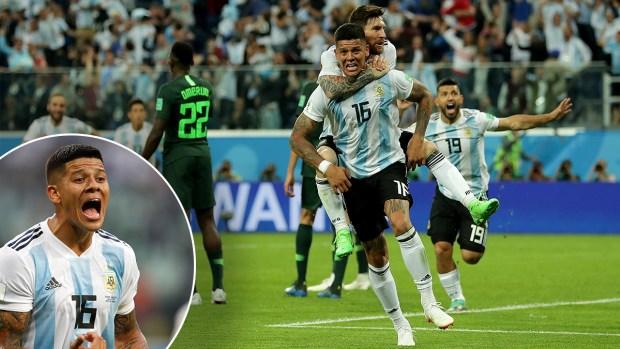 Al borde del infarto: revive el golazo que clasificó a Argentina