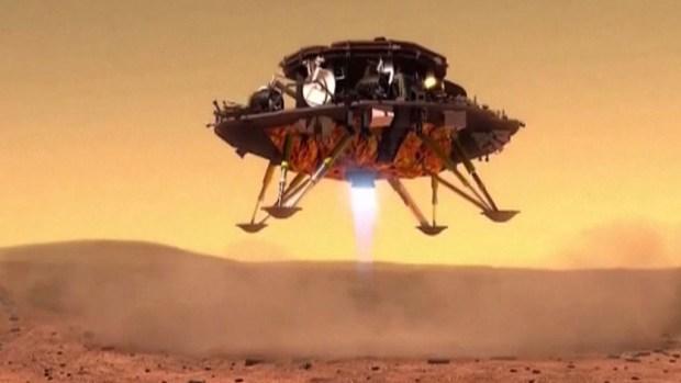 Los chinos, listos para llegar a Marte