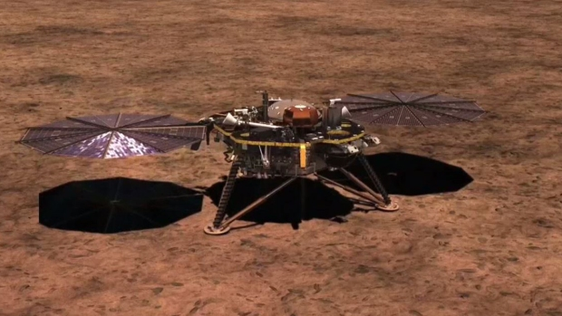 Nave de exploración InSight llega a Marte