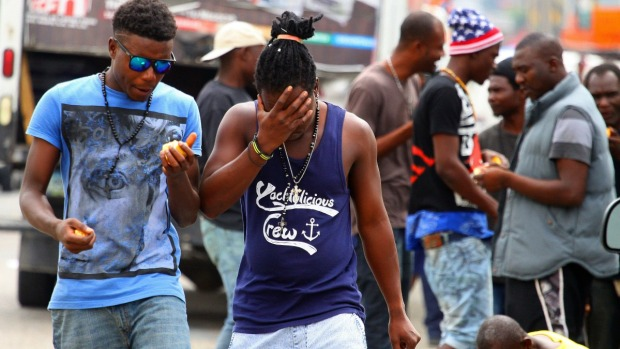 """La pequeña Haití"" emerge en Tijuana"
