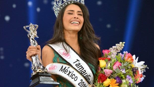 Miss Tamaulipas es coronada como Miss México  2016