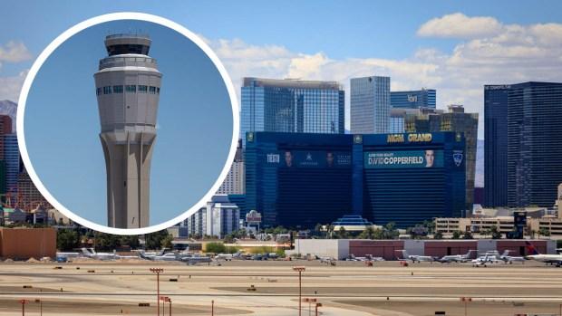Pilotos a ciegas: operadora de aeropuerto en Las Vegas pierde el conocimiento