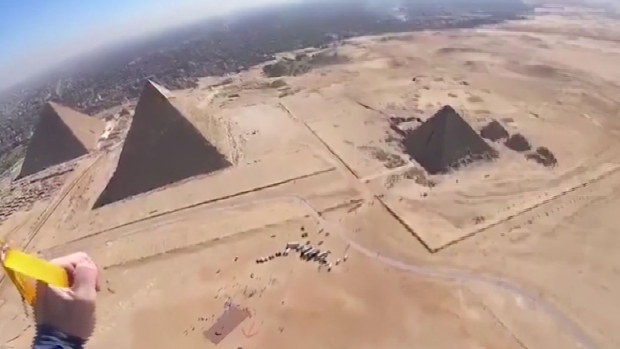 Increíbles: las pirámides de Egipto, como nunca las viste