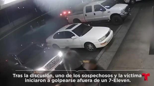 [TLMD - LV] Se le cruzaron en la calle y tras discusión le dispararon