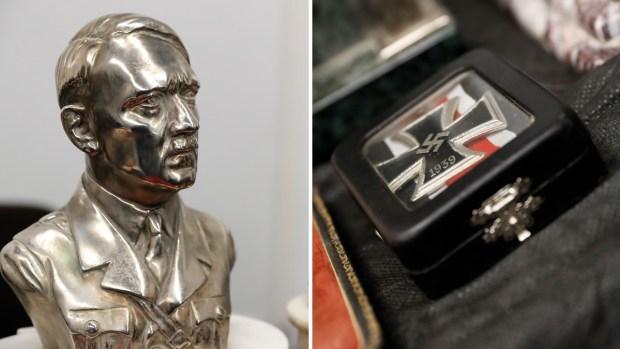Tesoro del terror: hallan decenas de reliquias nazi escondidas