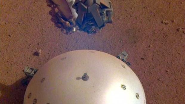 Detectan lo que sería el primer sismo en Marte