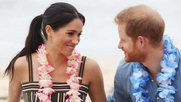 """""""Meghan y Harry en la playa"""": más enamorados que nunca"""