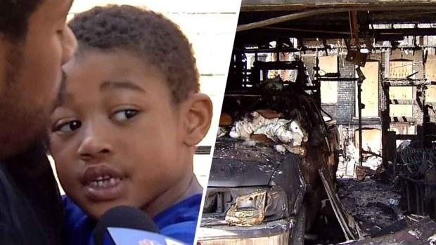 Héroe en Chicago tiene cinco años: salva a familia de morir en incendio