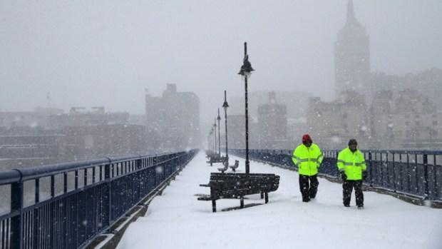 Video: Tormenta invernal, efectos durarán días