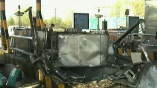 Video: Aparatoso accidente captado en video