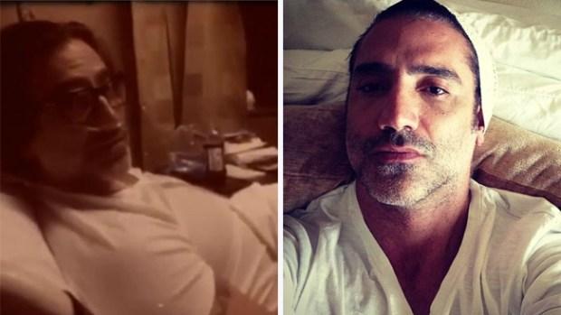 Video: Alejandro Fernández sufre accidente