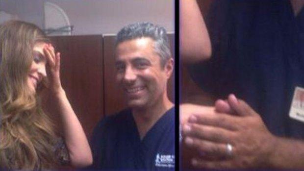 Video: La inyección a Ana Bárbara en su trasero