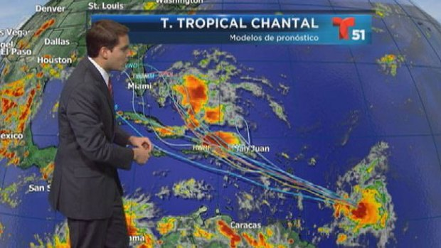 Video: Chantal rumbo a República Dominicana