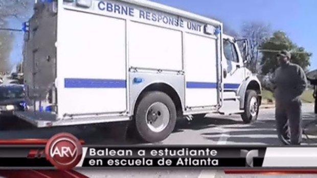 Video: Tiroteo en escuela deja dos heridos