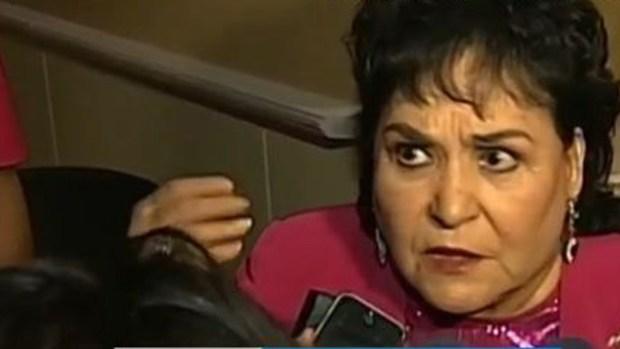 Video: Carmen Salinas hace trizas a todos