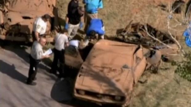 Video: Presa escondía 2 autos y 6 cadáveres