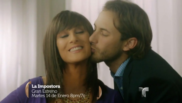 """Video: Reunión de estrellas en """"La Impostora"""""""