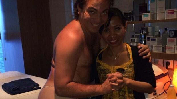 Video: Desnudo de Cristian Castro provoca furor y burlas
