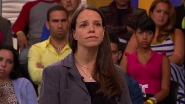 Caso Cerrado: ¿Masoquismo o religión?-Demandada