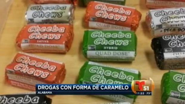 Video: Drogas disfrazadas de caramelos