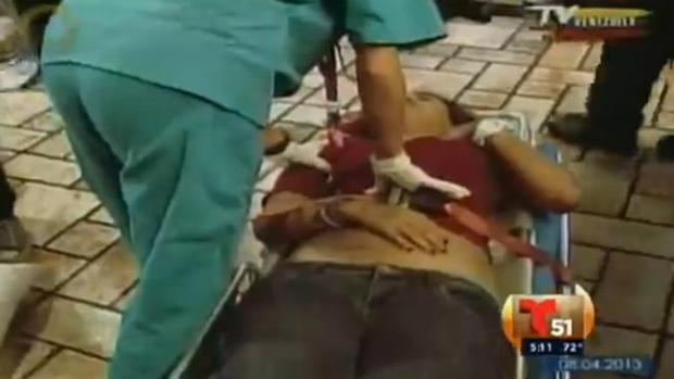 Video: Venezuela: 5 estudiantes heridos