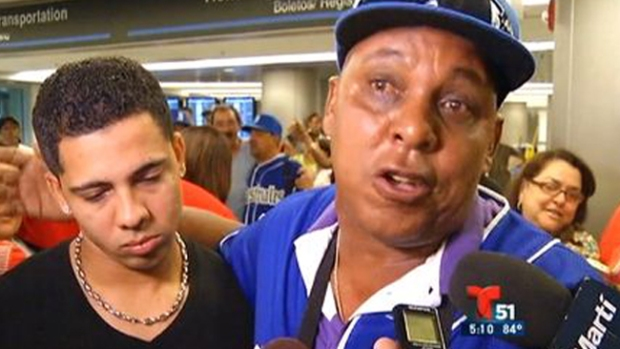 Video: Los Industriales ya están en Miami