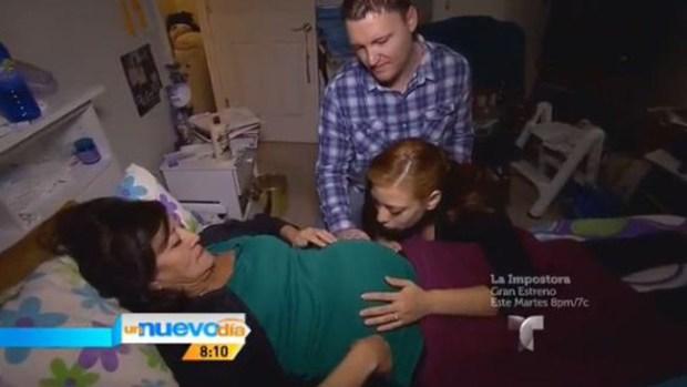 Video: Habla madre que dará luz a su nieta