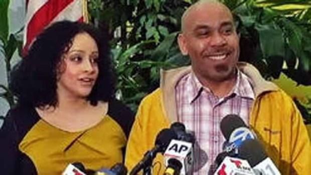 Video: Dominicano reclama millones de lotería