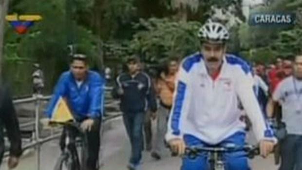 Video: Caída de Nicolás Maduro en video
