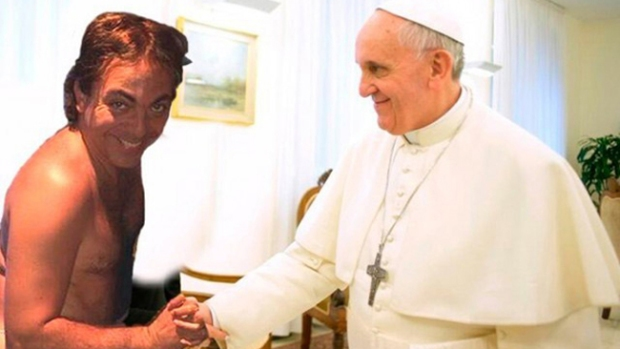 Video: Cristian disfrutó su abrazo con el Papa