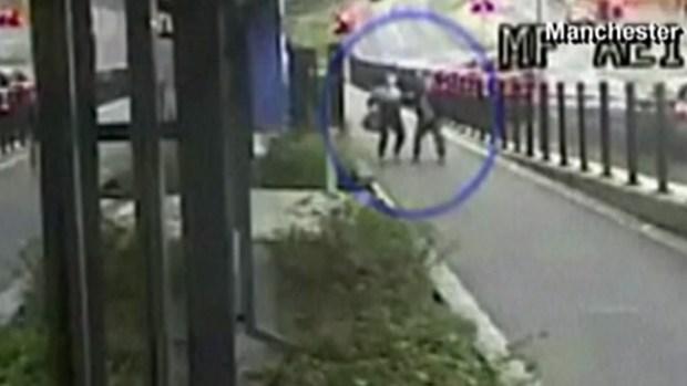 Video: Peatones ven la muerte venir y le huyen
