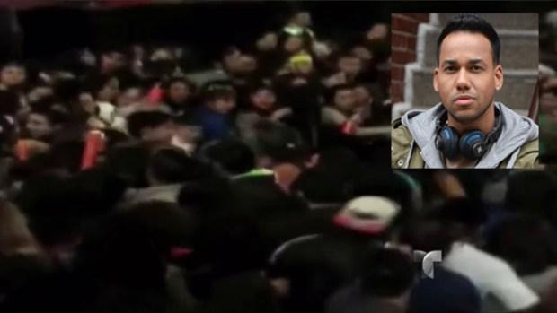 Video: Se tiran a puños en concierto de Romeo