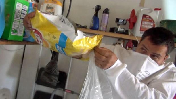 Video: Sorpresa repulsiva en bolsa de papitas