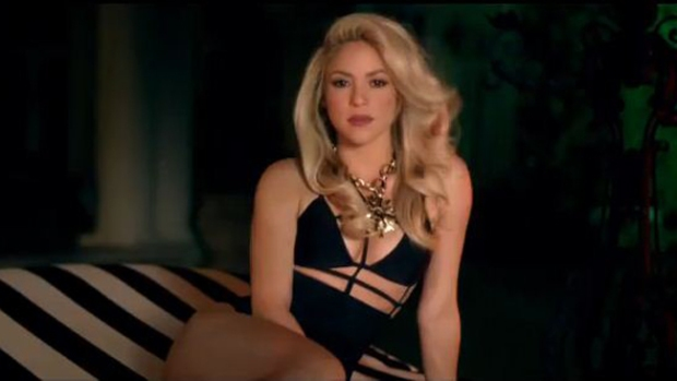 Video: Shakira estrena video sin Rihanna