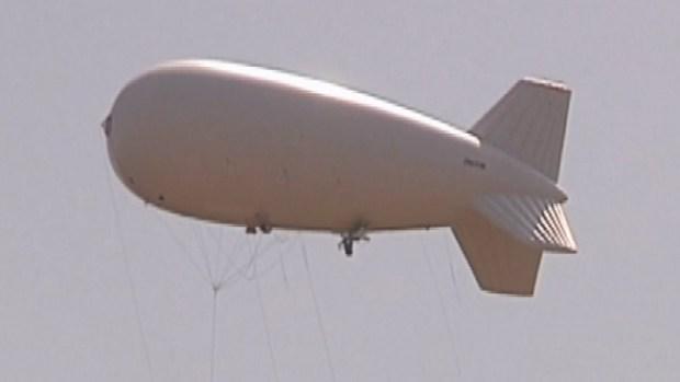 Video: Globos aerostáticos vigilan la frontera