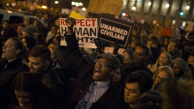 Video: Se intensifican las protestas por Garner