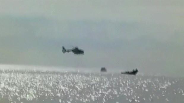 [TLMD - LV] Capturan a presuntos narcos en lancha rápida
