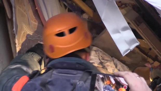 [TLMD - LV] Continúan las labores de rescate en el edificio derrumbado en Rusia