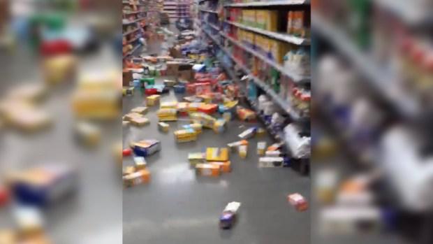 [TLMD - LV] Videos de cómo se vivió el sismo en Nevada y California