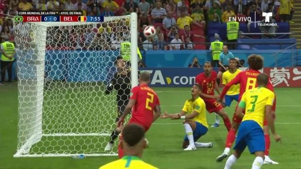 [World Cup 2018 PUBLISHED] ¡Como no fue gol! El palo le niega el primero a Brasil
