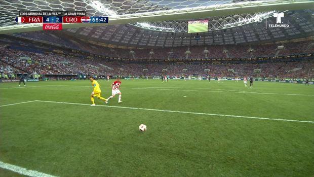 [World Cup 2018] Gol de Mandžukić tras error monumental de Lloris